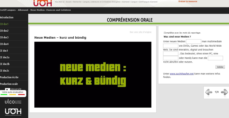 module allemand