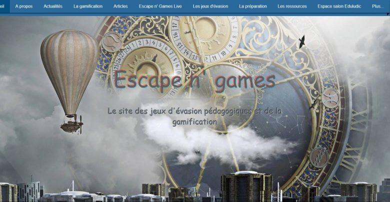 logo escape n' games
